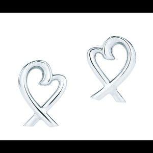 Paloma Picasso Tiffany & Co Heart Earrings